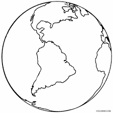 Small Picture Printable planet earth coloring page planet earth coloring pages