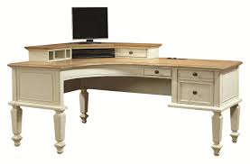 curved office desks. Aspenhome Cottonwood Desk And Hutch - Item Number: I67-372+370CH Curved Office Desks S