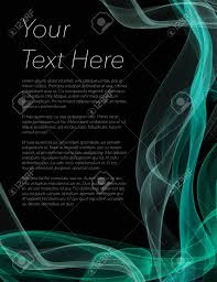 flyer backgr black leaflet poster or flyer with black background and coloured swirls