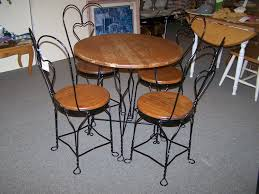 exceptional image of ice cream parlor table and chairs fast