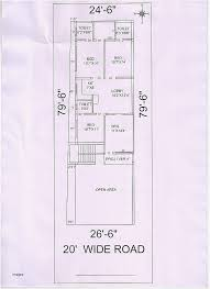 entranching 20x60 house plan floor plans for 20 60 house inspirational 20 x 60 south