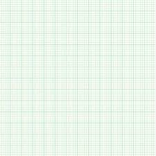 Green Architectural Graph Paper Grid Printable Graph Paper