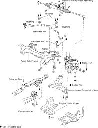 Repair guides front suspension lower control arm rh 2000 toyota camry suspension diagram 2000 toyota camry suspension diagram