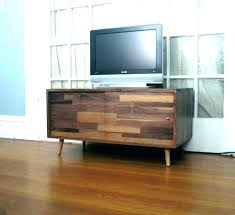 mid century modern console best record player cabinet media table stand diy tv with barn doors