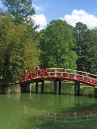 changes ahead in the horticultural heart of memphis <br >the red drum bridge was completely rebuilt during 2015 in the memphis