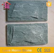 green slate tile and landscaping slate rock and roofing slate slabs on