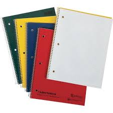 Mead 1 Subject Graph Ruled Notebook Letter 100 Sheets Wire