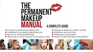 the permanent makeup manual with dvd