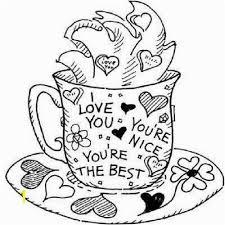 Coffee Mug Coloring Page Mug Coloring Page Printable Best 744 Best