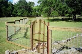 farm fence gate. Fascinating Cattle Fencing Panels Fences And Gates Iron Gate Custom Wrought With Stone Farm Fence
