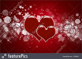 Holidays Hearts Background Stock Illustration I2763673 At Featurepics