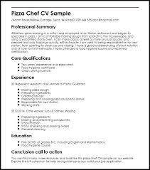 Pizza Cook Resume Sample – Leemobin.co