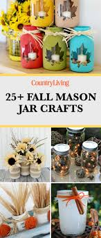 Crafts With Mason Jars 30 Mason Jar Fall Crafts Autumn Diy Ideas With Mason Jars