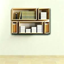 wall book shelves hanging wall book shelf small bookshelf from speakers living room bookcase hanging wall