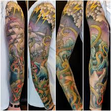 House Of Tattoo Release The Kraken Fun Sleeve Finished Facebook