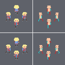 Pixel Character Template Pixel Character Template Magdalene Project Org
