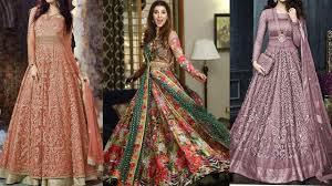 Unique Dress Design Pakistani Pakistani And Indian Designer Lehnga Maxi Dresses 2019 Lehnga Maxi Gown Designs