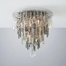 jennifer flush ceiling light with mixed