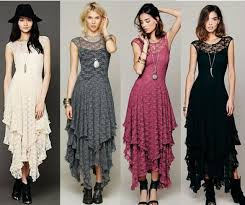 Dress Patterns For Women Extraordinary 48 The New Fashion Women'S Irregular Lace Skirt Sexy Long Dress