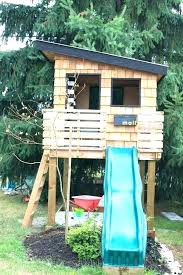 childrens wooden playhouse plans free kit play house fabulous backyard playhouses sure to delight your kids
