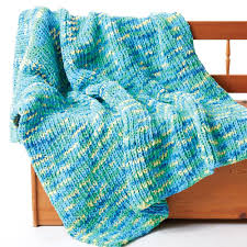 Bernat Blanket Yarn Patterns Knit Best Bernat Supersquish Knit Blanket Yarnspirations
