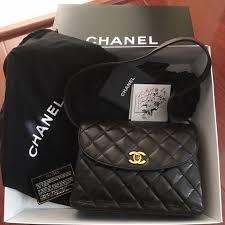 chanel vintage bag. chanel vintage quilted flap shoulder bag chanel t