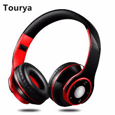 <b>Tourya</b> H8 Wireless Headphones <b>Bluetooth</b> Headset Adjustable ...