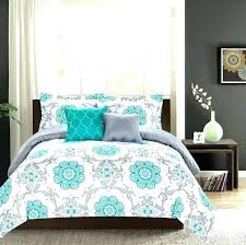 astounding ideas turquoise bedding sets full black and king white comforter brown queen