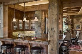 rustic basement bar ideas home bar rustic with rustic wood post bar area basement bar lighting ideas