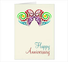 Template Anniversary Card 14 Printable Anniversary Card Designs Templates Psd Ai