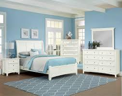 Teal And White Bedroom Vaughan Bassett Bonanza Bb29 White Bedroom Group