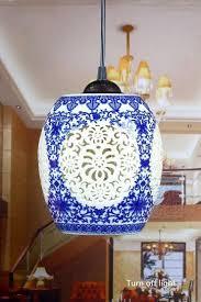 chinese style lighting. E27 Pendant Light Kitchen Led Chinese Style Hollow Ceramic Loft Coffee Bar Restaurant Lights Hanging Lamp Lighting