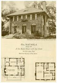 brick home floor plans with pictures 2370 best 1800s 1940s house plans images on vintage