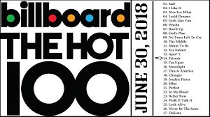 Billboard Charts 2018 30 Curious Us Billboard Hot 100 Singles Chart