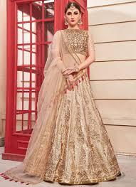 Designer Net Dupatta Online Salmon Pink Heavy Designer Lehenga Choli With Bridal Net Dupatta
