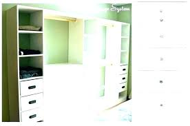 diy walk in closet drawers built system plans building organizer storage c