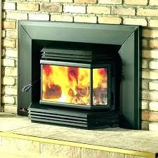 glass door wood burning stove doors fireplace replacement screens