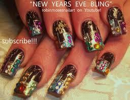 Robin Moses Nail Art: new york nails, new year 2012, new year ...