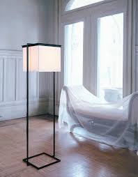 floor standing lamp contemporary paper handmade plein