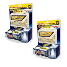 Sunblast Light Walmart Official As Seen On Tv Atomic Beam Sunblast By Bulbhead Solar Powered Led Motion Activated Security Light Industrial Strength Adhesive For Easy