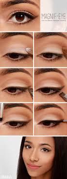 eye enlarging step by step makeup tutorial