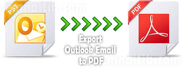 Save Outlook Email As Pdf File Convert Pst To Pdf Format