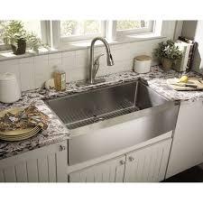 Portsmouth Undermount 23x21 Single Bowl Kitchen Sink  American Single Drain Kitchen Sink Plumbing