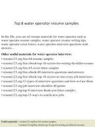 Power Plant Mechanic Sample Resume Interesting Plant Operator Resume Similar Resumes Power Plant Operator Resume