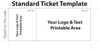 Printable Concert Ticket Template Mesmerizing Awesome Of Concert Ticket Template Image Free Printable Definition