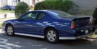 File:2003 Chevrolet Monte Carlo Pace Car edition rear.jpg ...