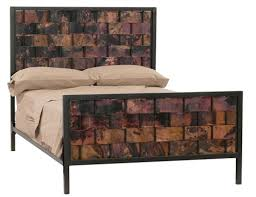 Rustic Iron Beds | Rustic Metal Bed Frames | Copper Bed Frame