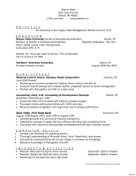 Sample Resume For Logistics And Supply Chain Management Best Of