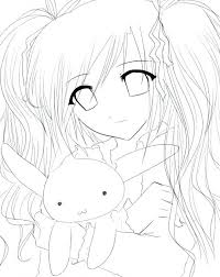 Anime Couples Coloring Pages Baffling Coloring Pages Anime