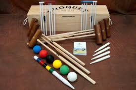 george wood is a world renowned mallet maker and his garden croquet set is manufactured to the highest standard to give years of use